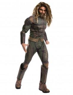 Aquaman™-Kostüm DC-Comics grün-braun