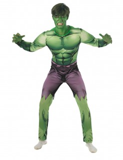 Der unglaubliche Hulk™-Kostüm Lizenzartikel grün