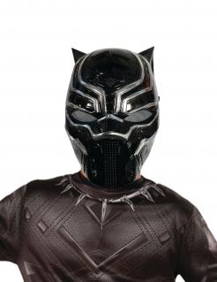 Black Panther™-Halbmaske Marvel-Lizenzartikel schwarz