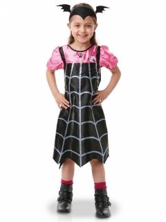 Vampirina™-Lizenzkkostüm für Kinder schwarz-rosa-weiss