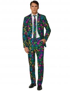 Mr. Floral Herrenanzug von Suitmeister™ bunt