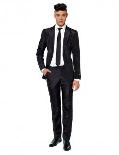 Mr. Black Solid Herrenanzug von Suitmeister™ schwarz