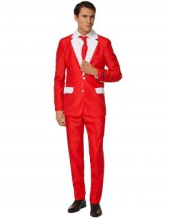 Mr. Santa Herrenanzug von Suitmeister™ rot-weiss