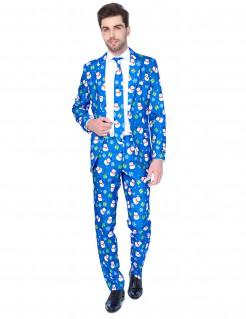 Mr. Snowman Weihnachts-Herrenanzug von Suitmeister™ bunt