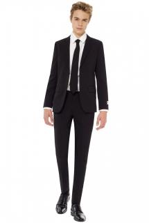 Mr. Black-Kostüm für Jugendliche Opposuits™ schwarz