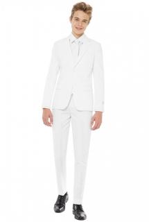 Mr. Blanc-Kostüm für Jugendliche Opposuits™ weiss