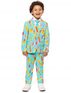 Mr. Iceman Opposuits™ Kostüm für Kinder türkis-gelb