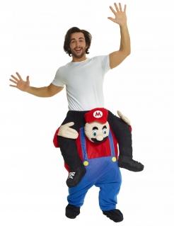 Carry-Me-Handwerkerkostüm Morphsuits™ Faschingskostüm blau-rot