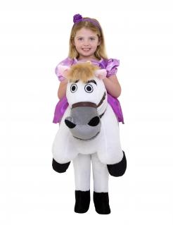 Rapunzel™-Kostüm mit Pferd Morphsuits™ für Mädchen Fasching violett-weiss