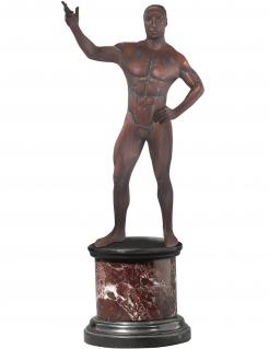 Bronzestatuen-Kostüm von Morphsuits™ für Erwachsene braun