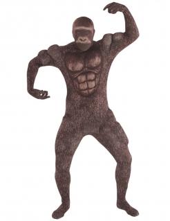 Gorillakostüm von Morphsuits™ für Erwachsene braun