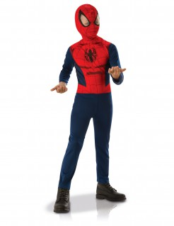 Spider-Man™-Kinderkostüm Lizenzkostüm blau-rot