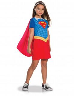 Supergirl™-Kinderkostüm Lizenzkostüm blau-rot