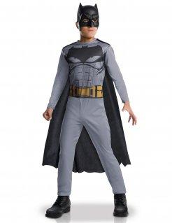 Batman™-Kinderkostüm Comicfigur Lizenzkostüm grau-schwarz
