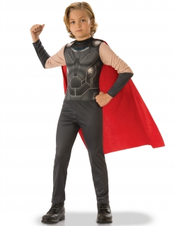 Thor™-Kinderkostüm Linzenzkostüm Marvel grau-rot