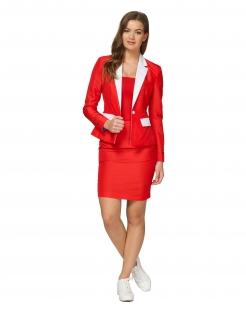 Mrs. Santa-Damenkostüm von Suitmeister™ für Weihnachten rot-weiss