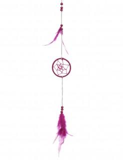 Traumfänger Hängedeko pink 35cm