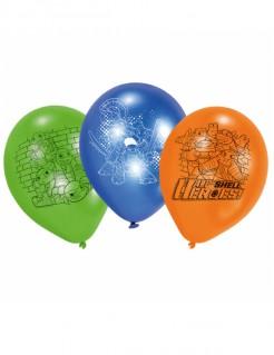 Teenage Mutant Ninja Turtles™ Latexballons 6 Stück bunt