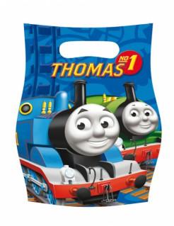 Geschenkbeutel Thomas die kleine Lokomotive™ 6 Stück blau 16,5x23cm