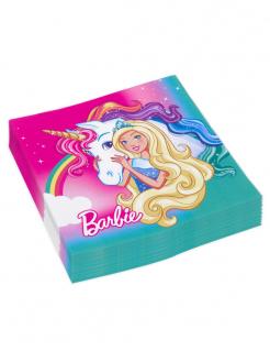 Barbie Dreamtopia™ Servietten 20 Stück bunt