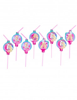 Barbie Dreamtopia™ Trinkhalme 8 Stück bunt