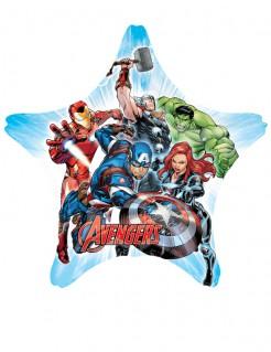 Grosser Avengers™-Ballon in Sternform Marvel™-Lizenzartikel bunt 81x81cm