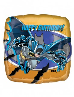 DC™ Batman™ Ballon Folienballon bunt 40x40cm