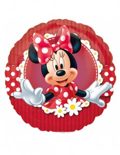 Minnie Maus™ Ballon Folienballon rot bunt 23cm