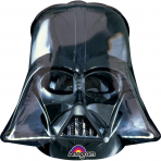 Folienballon Star Wars™ Darth Vader™ schwarz-grau 25x27cm