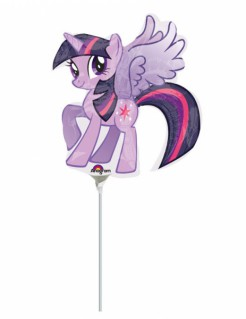 Folienballon My little Pony™ violett-pink 25x27cm