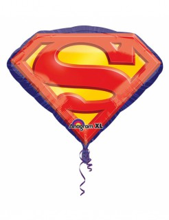 Superman™ Ballon Folienballon bunt 66x50cm