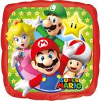 Super Mario™ Ballon bunt 23x23cm