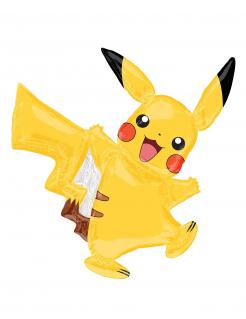 Pokémon™ Pikachu™ Ballon gelb bunt 27x33cm
