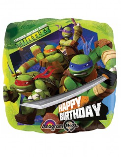 Teenage Mutant Ninja Turtles™ Ballon bunt 43x43cm