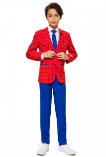 Mr. Spider-Man Teenager-Anzug von Opposuits™ blau-rot