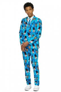 Mr. Winter Teenager-Anzug von Opposuits™ bunt