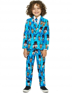 Mr. Winter Kinderanzug von Opposuits™ bunt