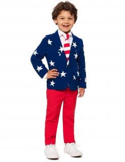 Mr. USA-Kinderkostüm Opposuits™ blau-rot-weiss