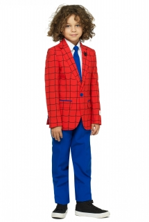 Mr. Spider Man™ Kinderanzug von Opposuits™ blau-rot