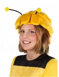 Biene Maja™-Kopfbedeckung für Damen Accessoire gelb-schwarz