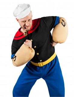Popeye™-Kostüm für Herren Seemann Faschingskostüm bunt