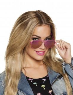 Pilotenbrille für Damen Accessoire pink