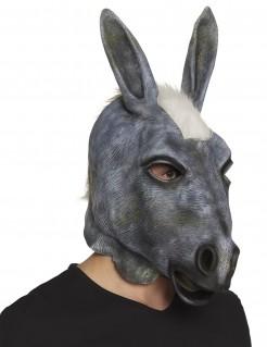 Esel-Maske Tiermaske aus Latex Kostüm-Accessoire