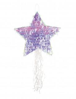 Stern-Pinata lila 45cm