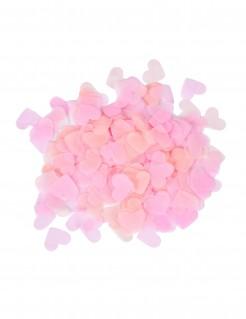 Herz-Konfetti Valentinstagsdeko rosa 20g