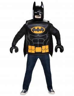 Lego®-Batmankostüm Lizenzkostüm schwarz-gelb