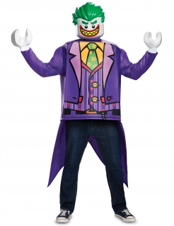 Joker LEGO®-Kostüm Karneval violett