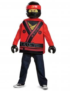 Ninjago™-Kostüm Kai für Kinder Fasching rot-gelb