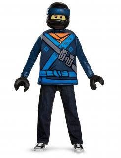 Jay Lego Ninjago™-Kostüm für Kinder Karneval blau