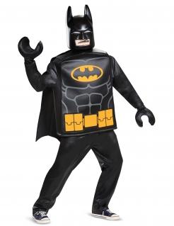 Lego™-Batman-Kostüm Faschingskostüm Deluxe schwarz-gelb